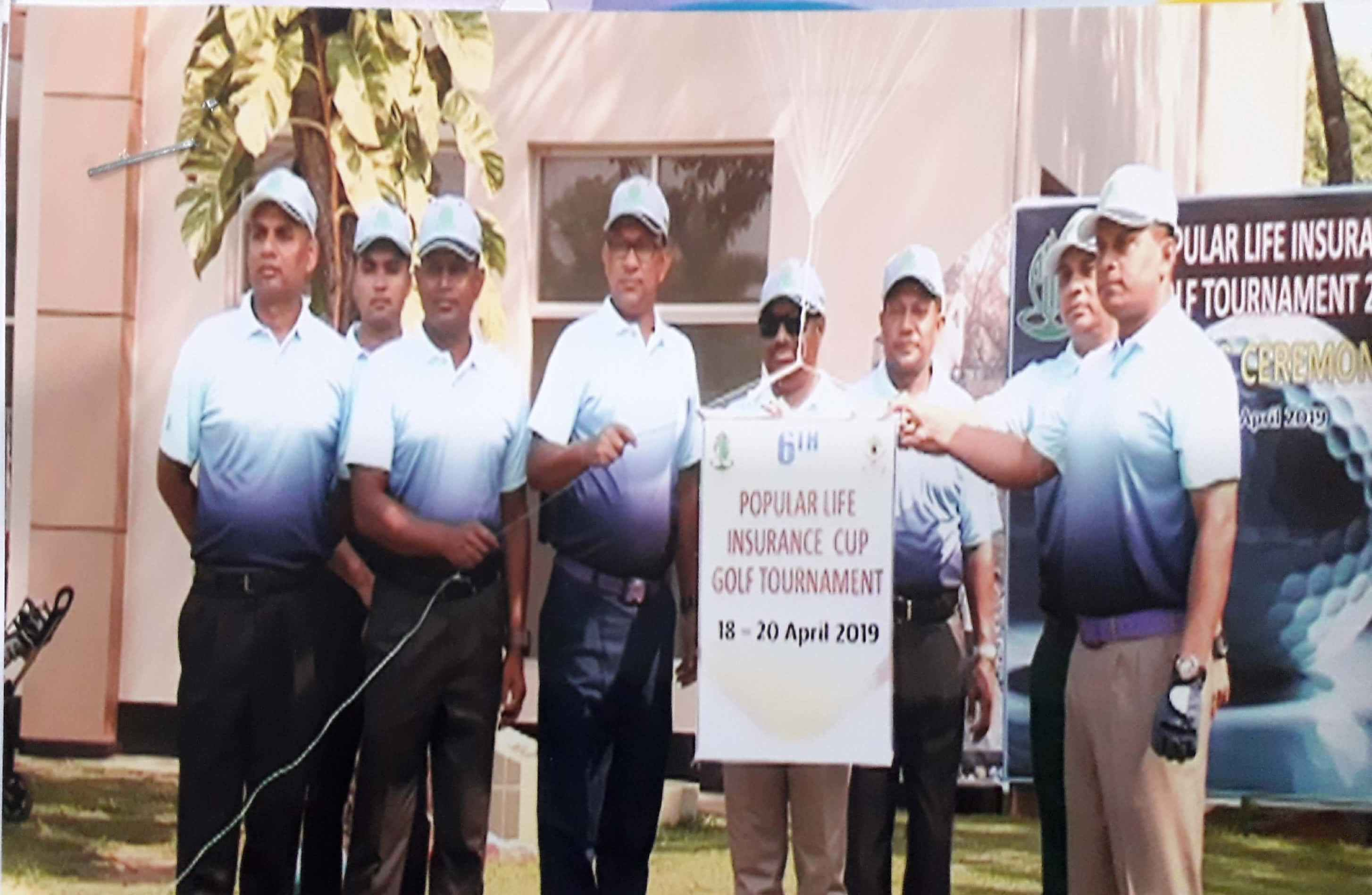 6th Popular Life Insurance Cup Golf Tournament - 2019